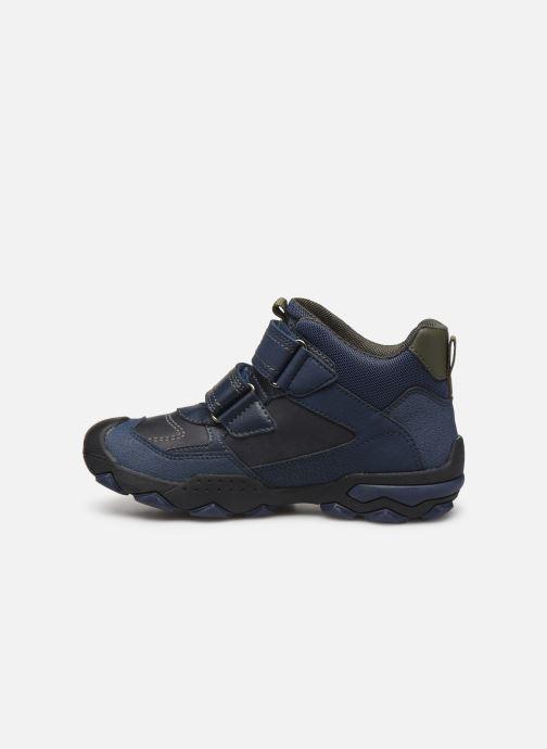 Chaussures de sport Geox J Buller Boy B Abx J949WE Bleu vue face