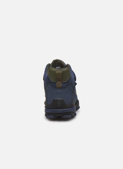 Chaussures de sport Geox J Buller Boy B Abx J949WE Bleu vue droite