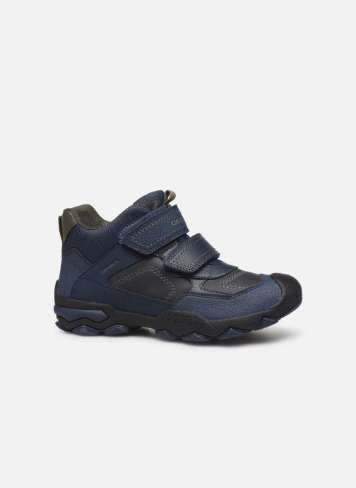 Chaussures de sport Geox J Buller Boy B Abx J949WE Bleu vue derrière