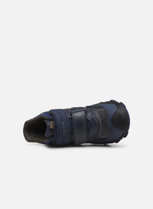 Sportschoenen Geox J Buller Boy B Abx J949WE Blauw links