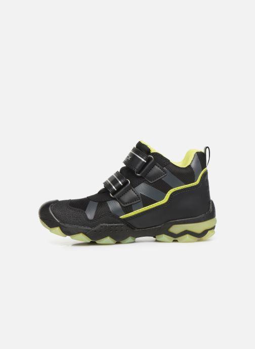 Sportschoenen Geox J Buller Boy B Abx J949WC Zwart voorkant