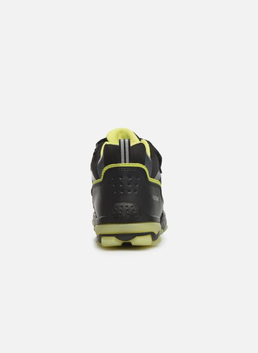 Chaussures de sport Geox J Buller Boy B Abx J949WC Noir vue droite