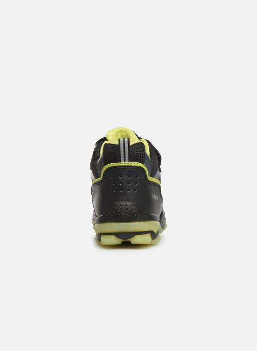 Sportschoenen Geox J Buller Boy B Abx J949WC Zwart rechts