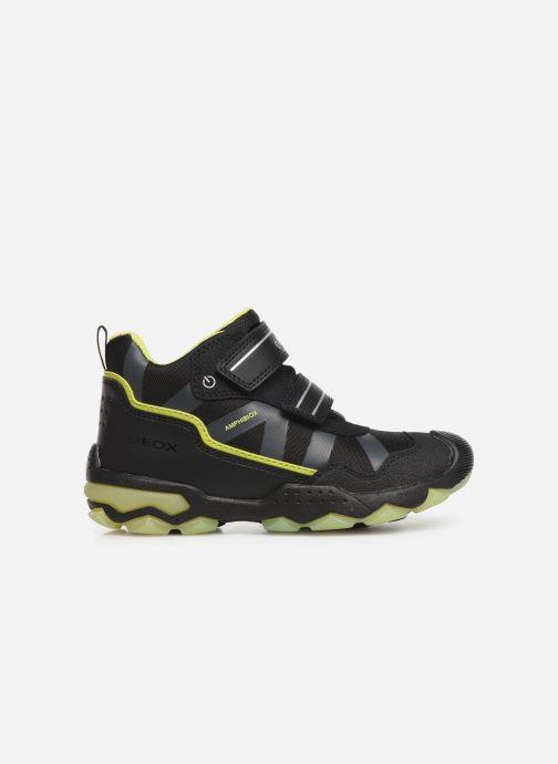 Chaussures de sport Geox J Buller Boy B Abx J949WC Noir vue derrière