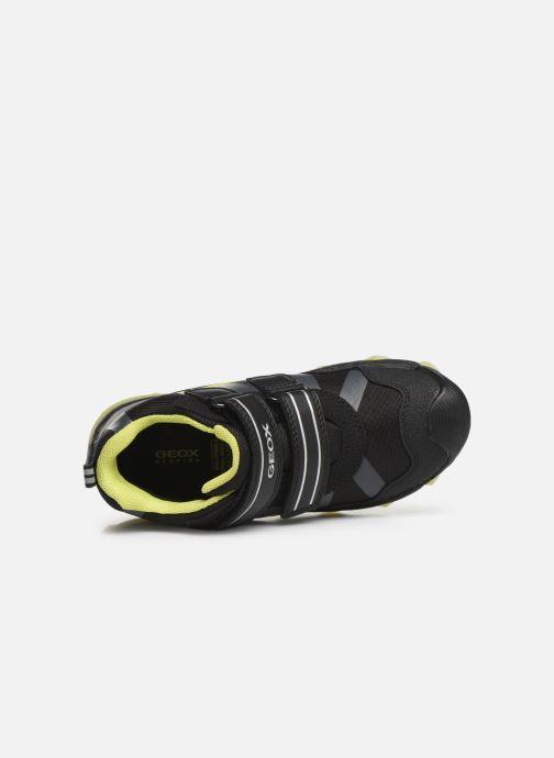 Chaussures de sport Geox J Buller Boy B Abx J949WC Noir vue gauche