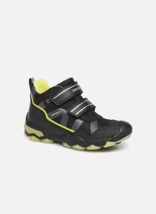 Chaussures de sport Geox J Buller Boy B Abx J949WC Noir vue détail/paire