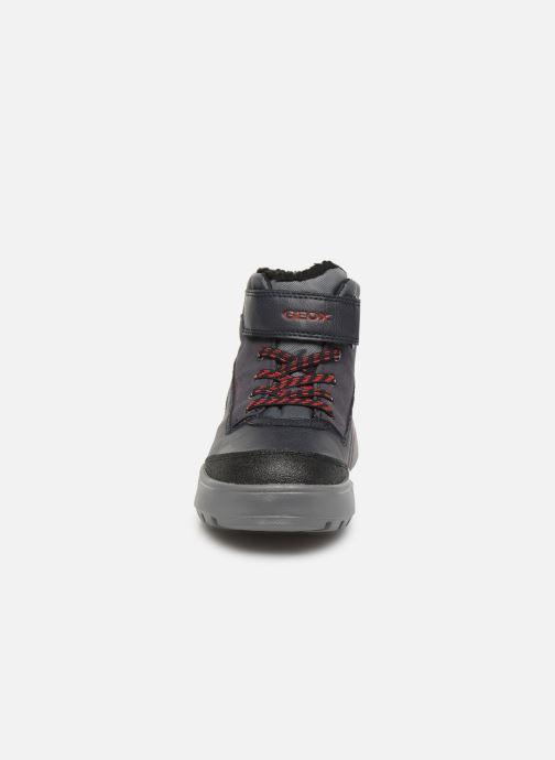 Chaussures de sport Geox J Sveggen Boy B Abx J947UB Bleu vue portées chaussures