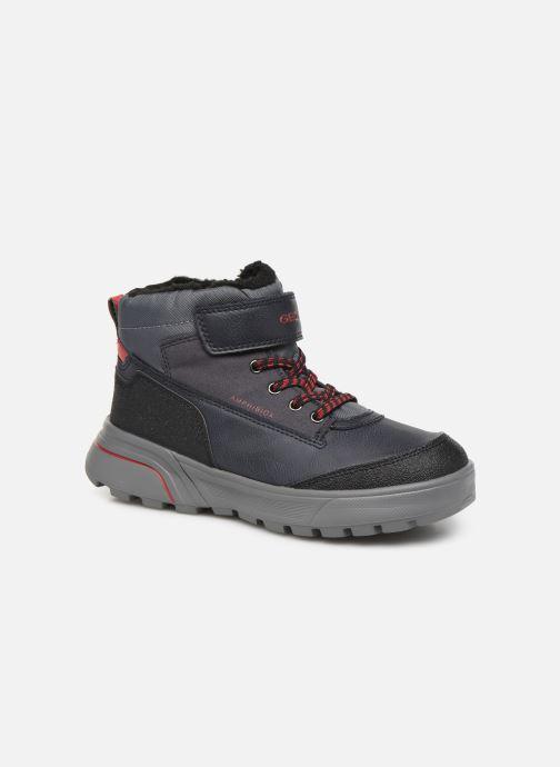 Chaussures de sport Geox J Sveggen Boy B Abx J947UB Bleu vue détail/paire