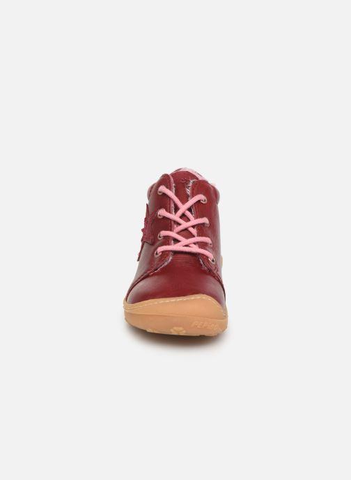 Stiefeletten & Boots Pepino Rommi rosa schuhe getragen