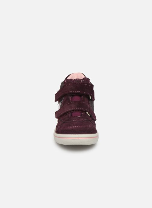 Baskets PEPINO Kaya-tex Violet vue portées chaussures