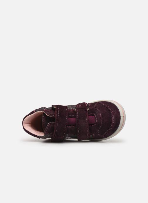 Sneaker Pepino Kaya-tex lila ansicht von links