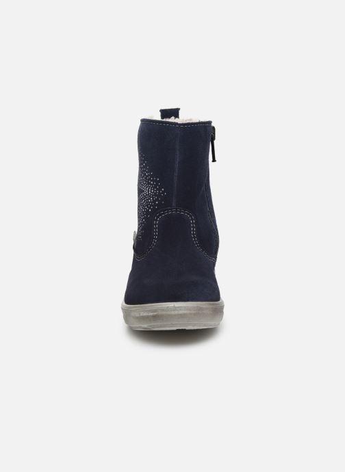 Bottes Pepino Cosi-tex Bleu vue portées chaussures