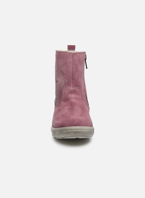Bottes Pepino Cosi-tex Rose vue portées chaussures