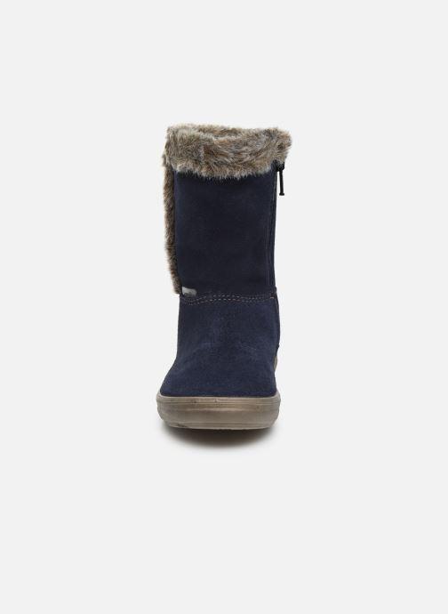 Stiefel Pepino Usky-Tex blau schuhe getragen
