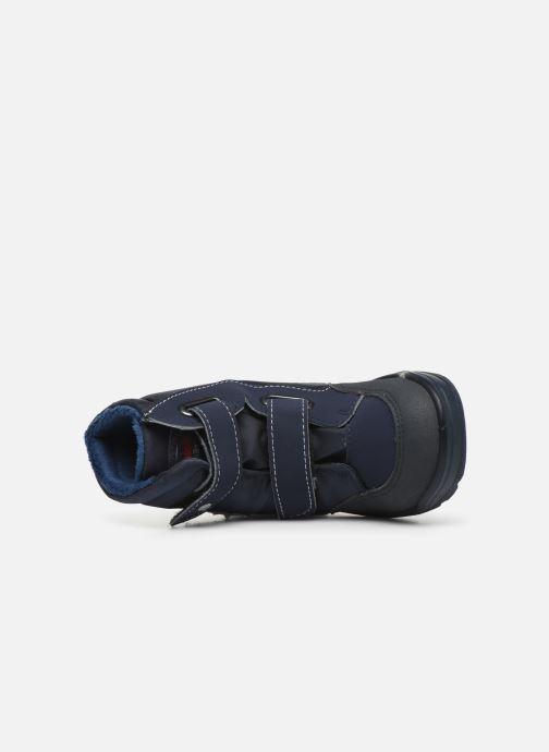 Zapatillas de deporte Pepino Maddy-tex Azul vista lateral izquierda