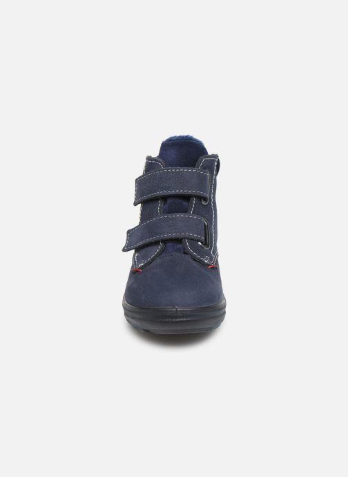 Baskets Pepino Alex-tex Bleu vue portées chaussures
