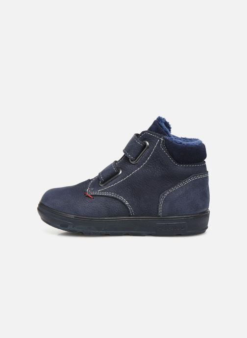 Sneaker Pepino Alex-tex blau ansicht von vorne