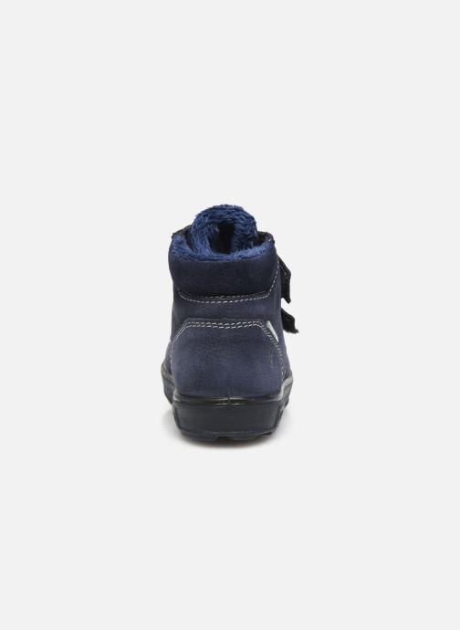 Sneaker Pepino Alex-tex blau ansicht von rechts