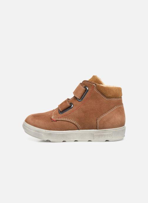 Sneaker Pepino Alex-tex braun ansicht von vorne