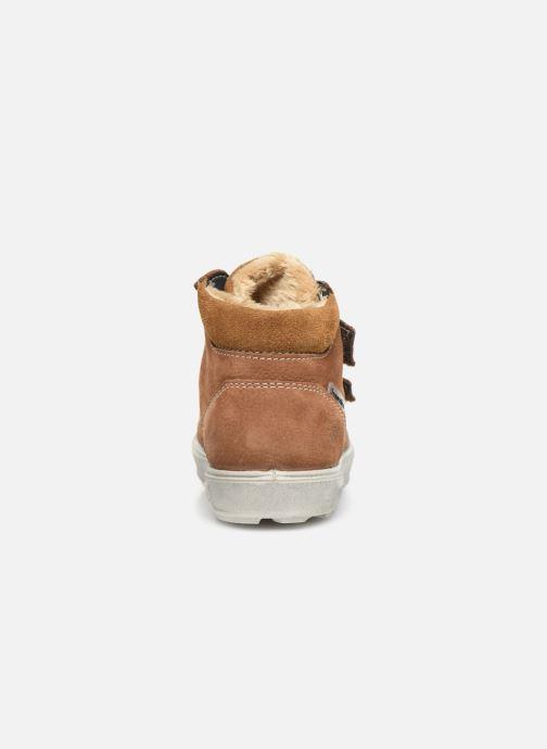 Sneaker Pepino Alex-tex braun ansicht von rechts
