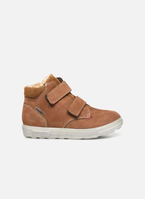 Sneaker Pepino Alex-tex braun ansicht von hinten
