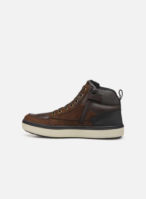 Sneakers Geox J Mattias B Boy ABX J940DA Bruin voorkant