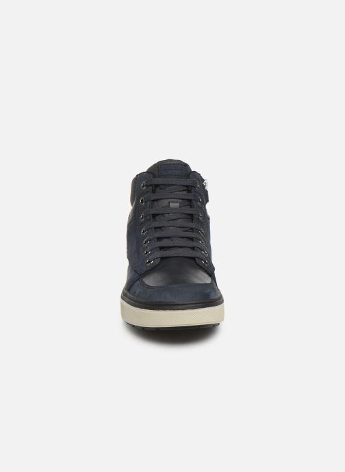 Baskets Geox J Mattias B Boy ABX J940DA Bleu vue portées chaussures