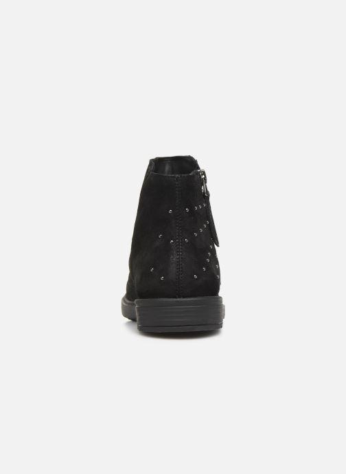 Boots en enkellaarsjes Geox J Eclair Girl J949QA Zwart rechts