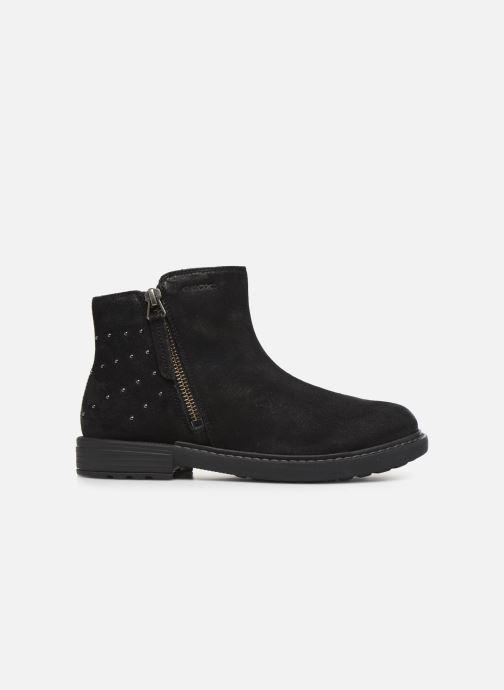 Boots en enkellaarsjes Geox J Eclair Girl J949QA Zwart achterkant