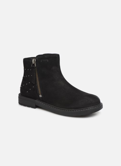 Boots en enkellaarsjes Geox J Eclair Girl J949QA Zwart detail