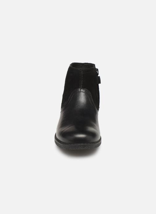 Stiefeletten & Boots Geox J Shawntel Girl J944EB schwarz schuhe getragen