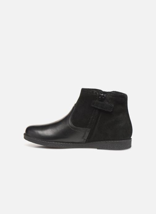 Boots en enkellaarsjes Geox J Shawntel Girl J944EB Zwart voorkant