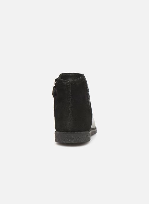 Boots en enkellaarsjes Geox J Shawntel Girl J944EB Zwart rechts