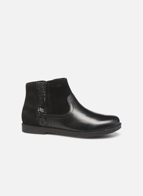 Boots en enkellaarsjes Geox J Shawntel Girl J944EB Zwart achterkant