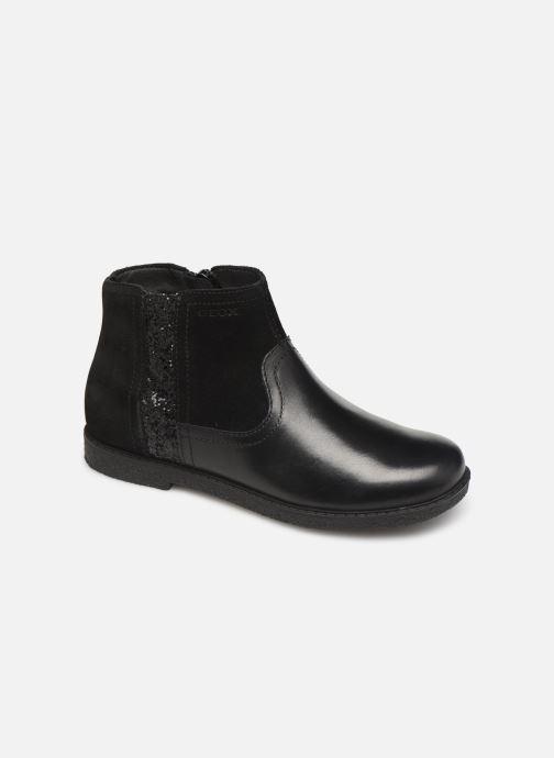 Boots en enkellaarsjes Geox J Shawntel Girl J944EB Zwart detail