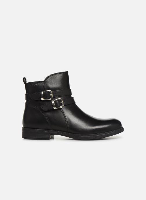 Boots en enkellaarsjes Geox JR Agata J9449A Zwart achterkant
