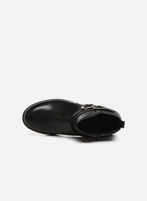 Boots en enkellaarsjes Geox JR Agata J9449A Zwart links