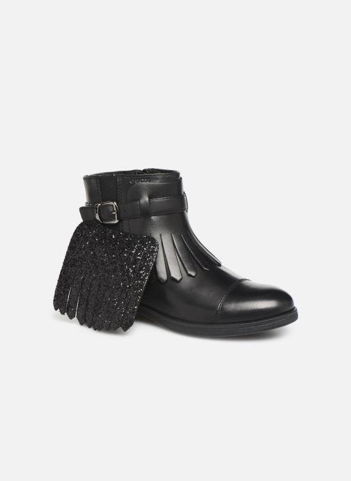Boots en enkellaarsjes Geox JR Agata J9449B Zwart 3/4'