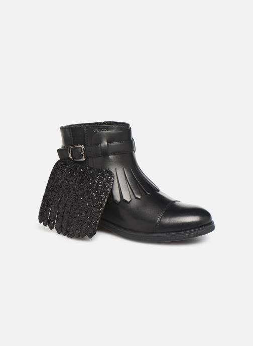 Bottines et boots Geox JR Agata J9449B Noir vue 3/4