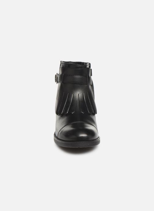 Bottines et boots Geox JR Agata J9449B Noir vue portées chaussures