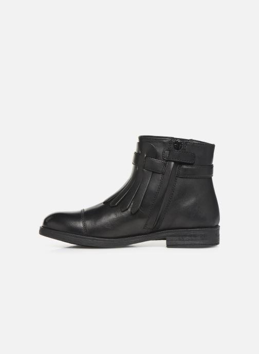 Bottines et boots Geox JR Agata J9449B Noir vue face