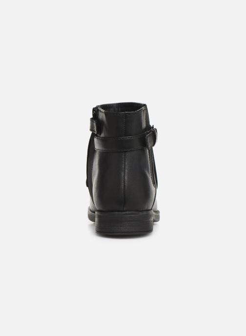 Boots en enkellaarsjes Geox JR Agata J9449B Zwart rechts