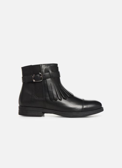 Bottines et boots Geox JR Agata J9449B Noir vue derrière