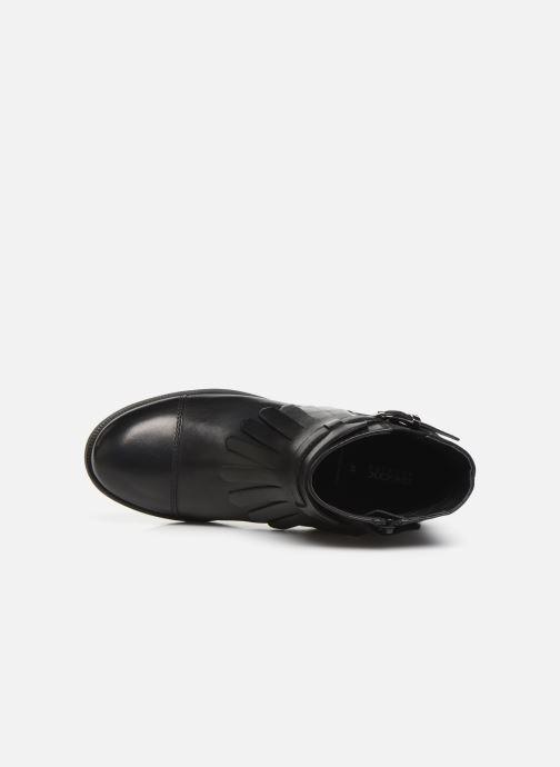 Boots en enkellaarsjes Geox JR Agata J9449B Zwart links