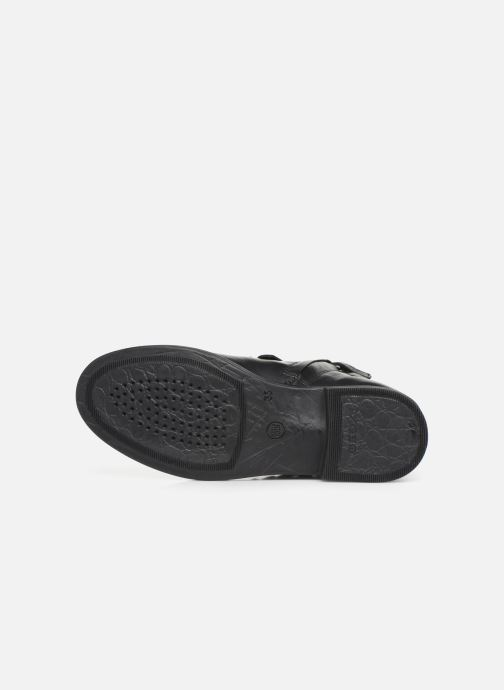 Geox JR Agata J9449B (Noir) Bottines et boots chez Sarenza