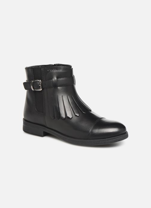 Boots en enkellaarsjes Geox JR Agata J9449B Zwart detail