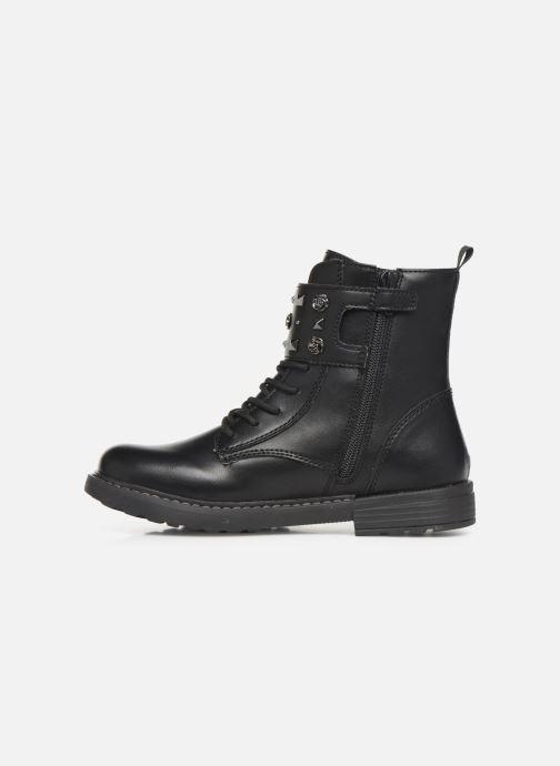 Boots en enkellaarsjes Geox J Eclair Girl J949QC Zwart voorkant