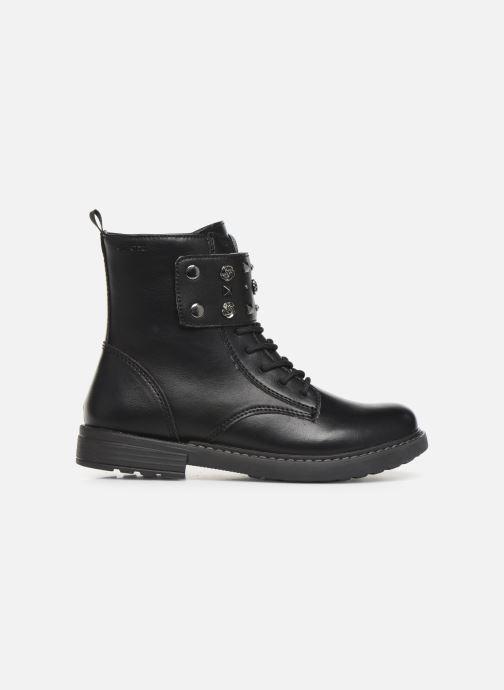 Boots en enkellaarsjes Geox J Eclair Girl J949QC Zwart achterkant
