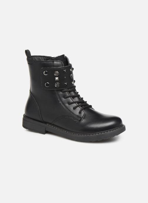 Boots en enkellaarsjes Geox J Eclair Girl J949QC Zwart detail