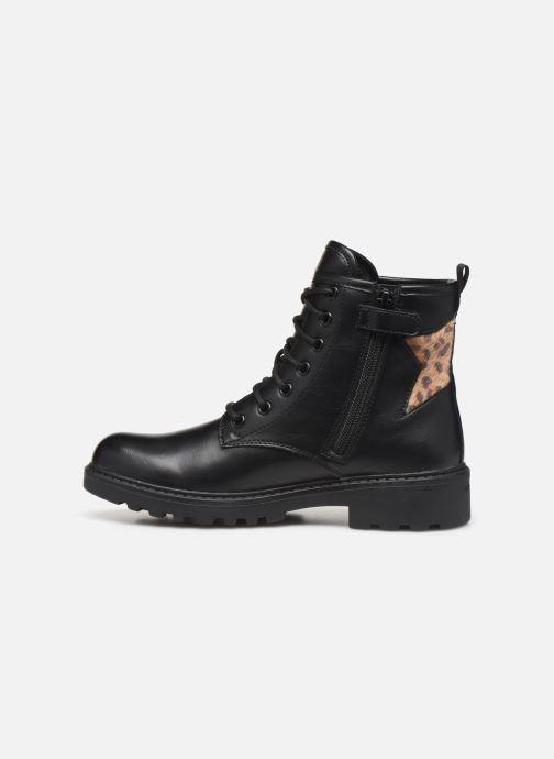 Bottines et boots Geox J Casey Girl J9420G Noir vue face
